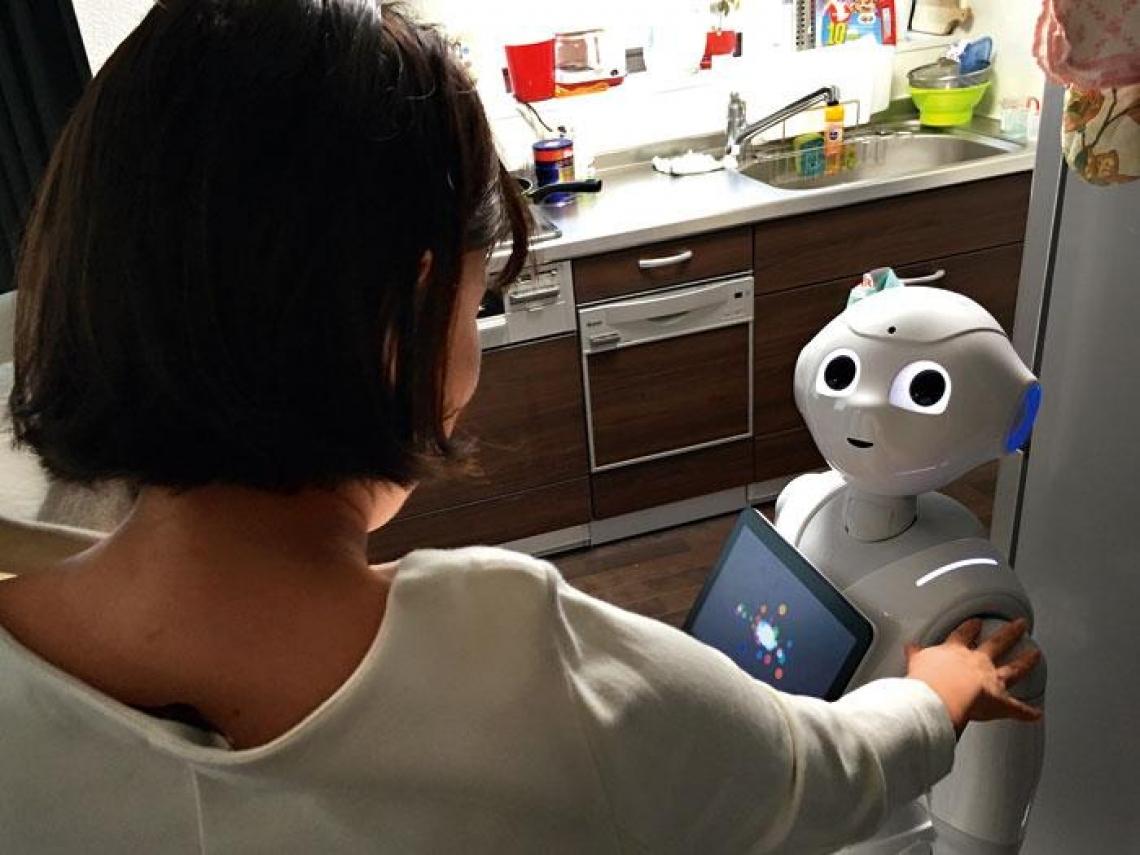一起生活吧!機器人