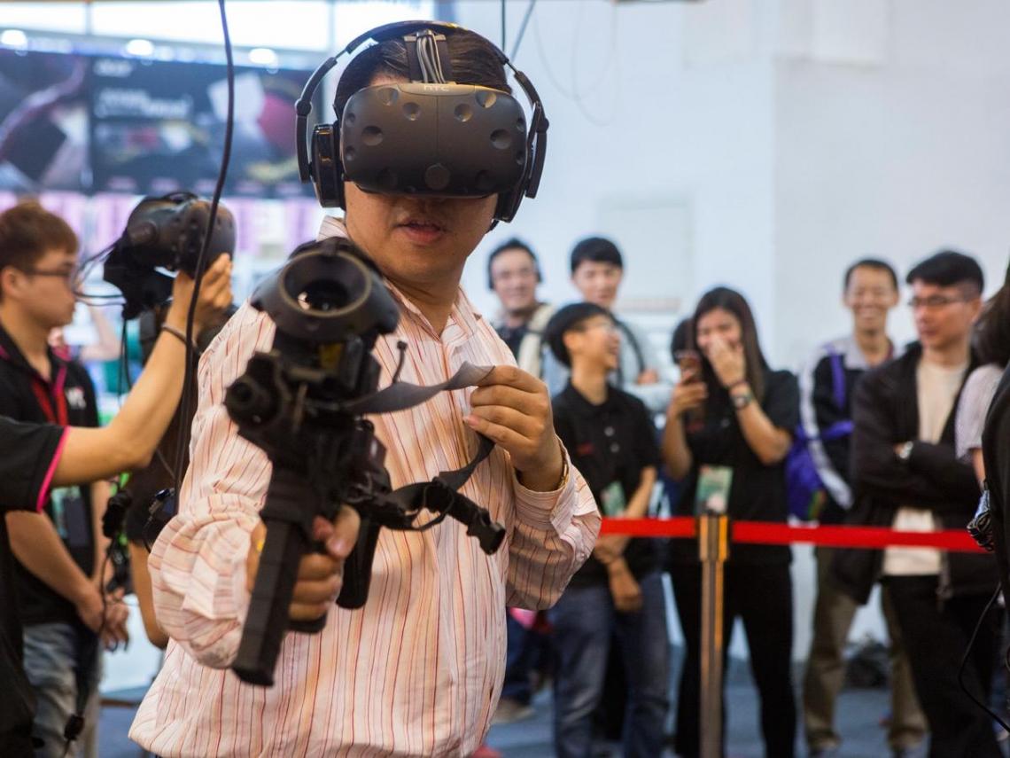 創VR大白鯊暴紅  打進主題樂園市場