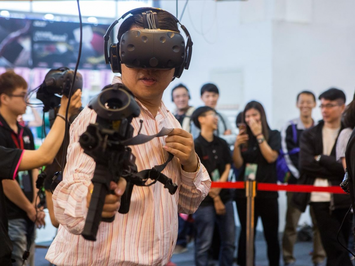 三個VR小尖兵 強攻「虛擬樂園」商機