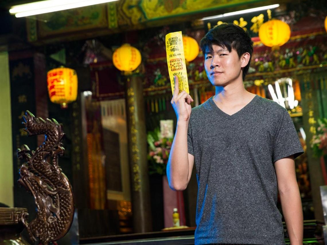 《通靈少女》導演陳和榆  在玄幻靈異中捕捉人性