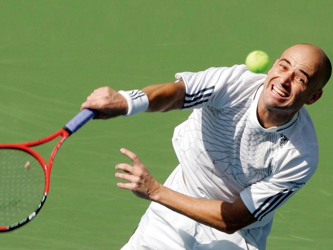 球王阿格西「由恨到愛」的網球之路