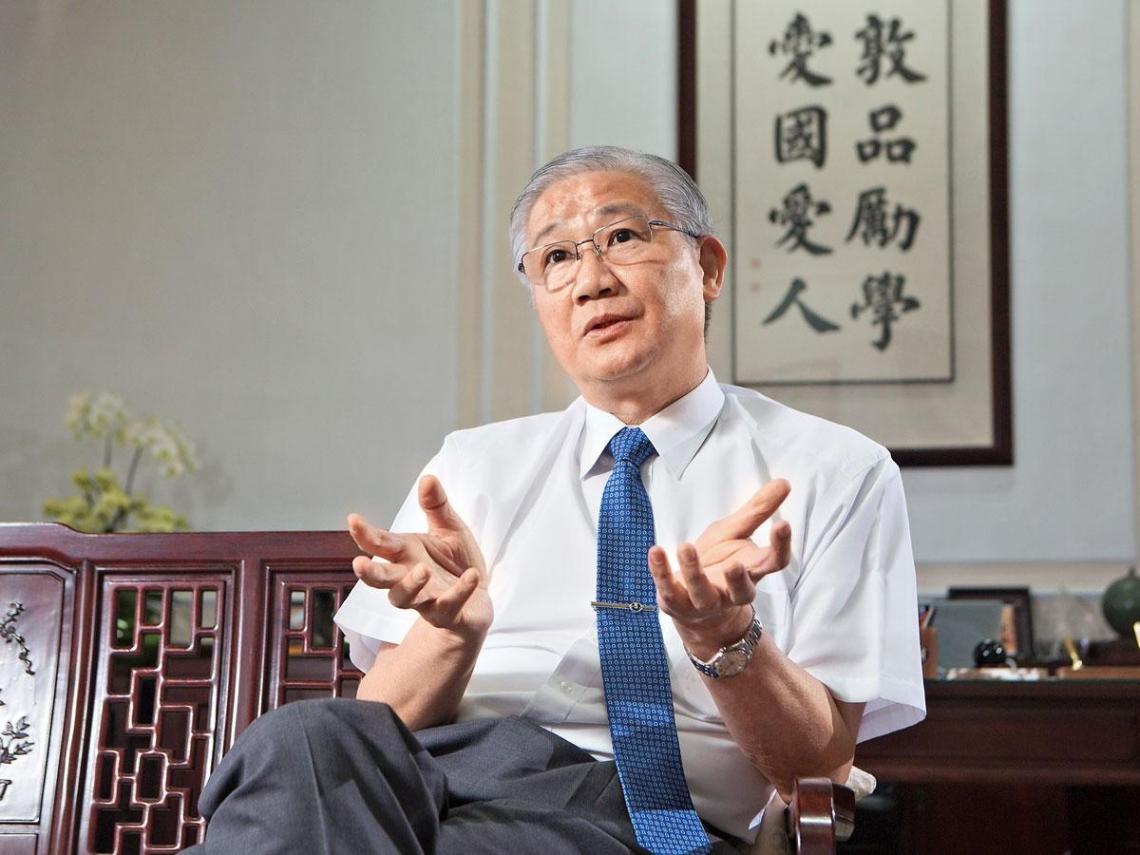 台大校長楊泮池:把握優勢   年輕人可以做更好