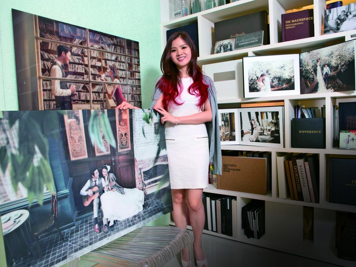 萌妹引進韓婚攝  海外六成業績靠她