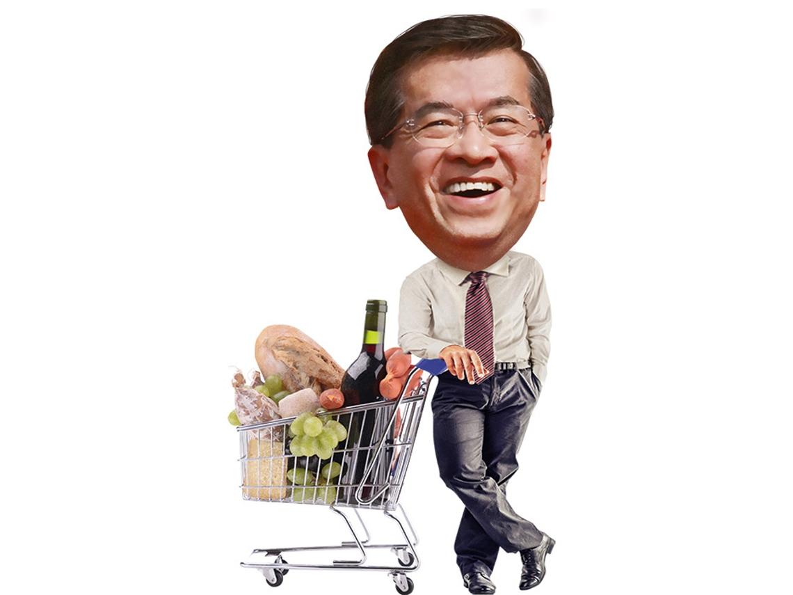 提供安心商品的地方超市