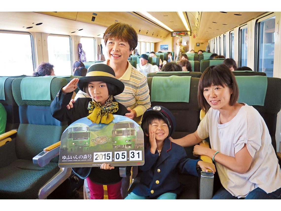 搭火車也能遛小孩