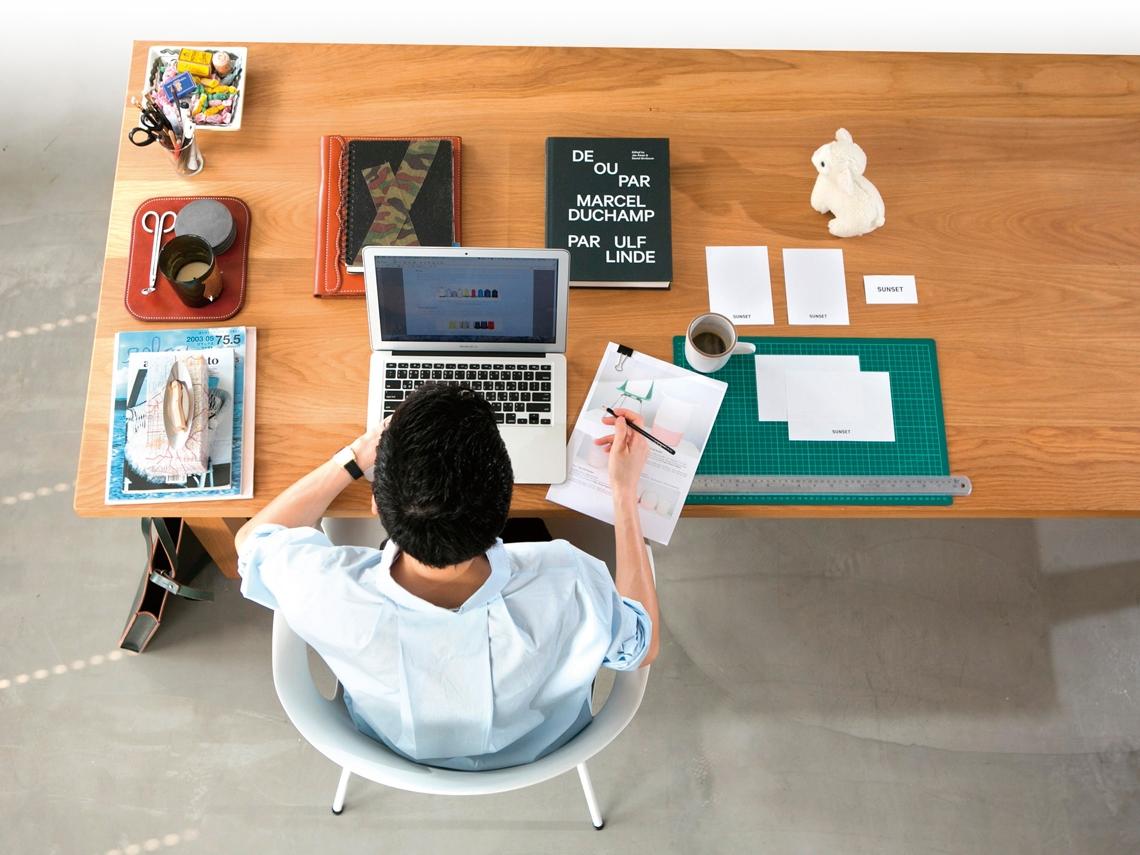 書桌的風景