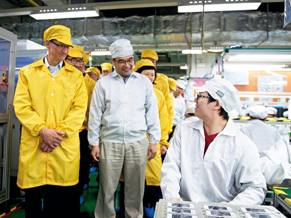 蘋果變心「投共」 台灣經濟命脈瀕危