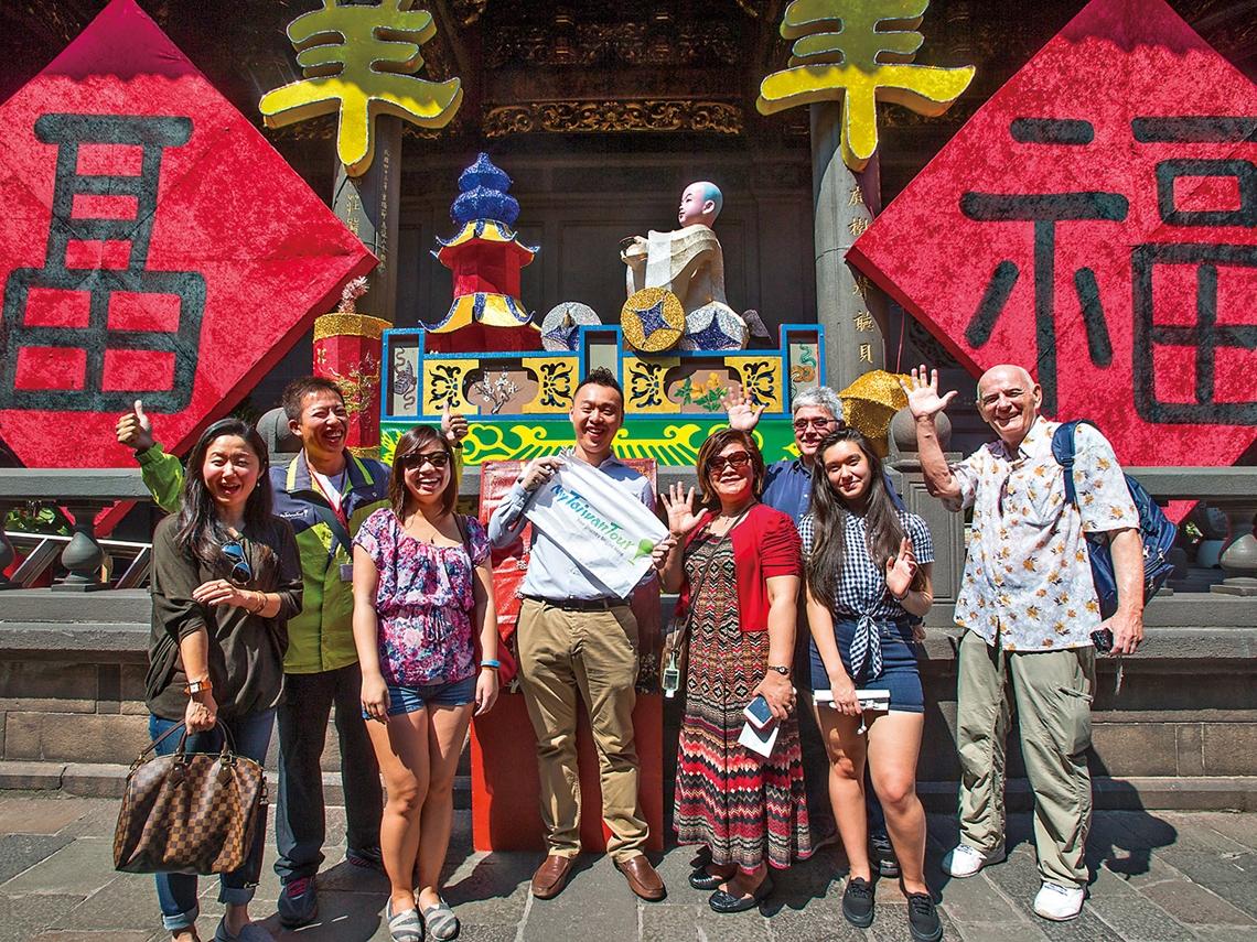 諾貝爾得主遊台灣 指名找他導覽
