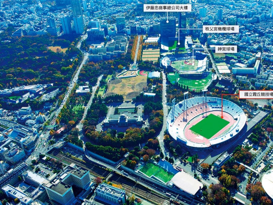 預見5年後的新東京