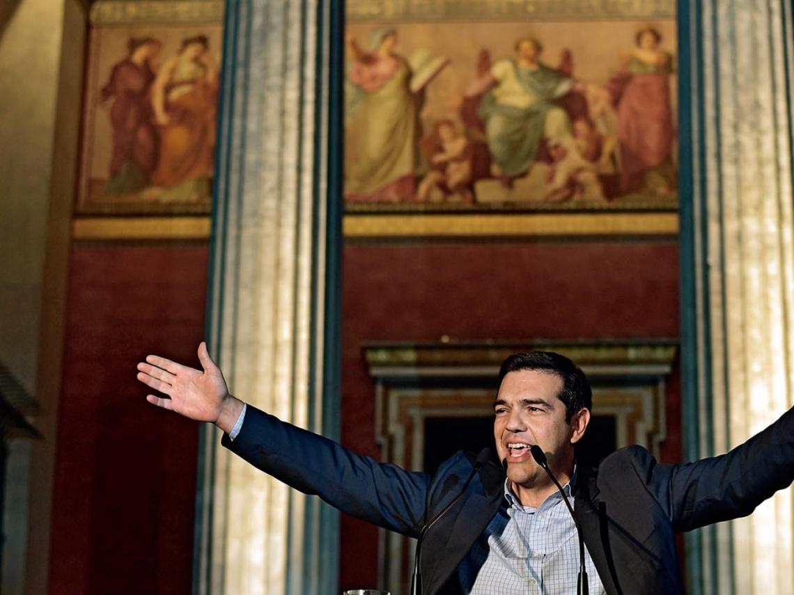 他對抗老權貴  不惜逼出希臘債務危機