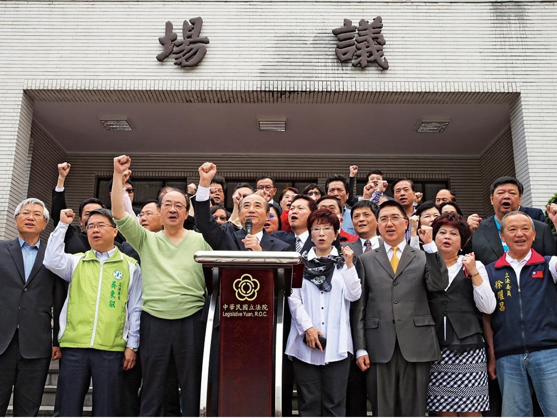 憲政改革 先修府院權責分配問題