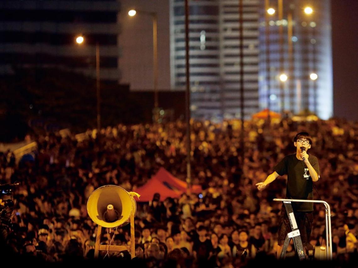 17歲少年黃之鋒 讓外媒看見香港「雨傘革命」