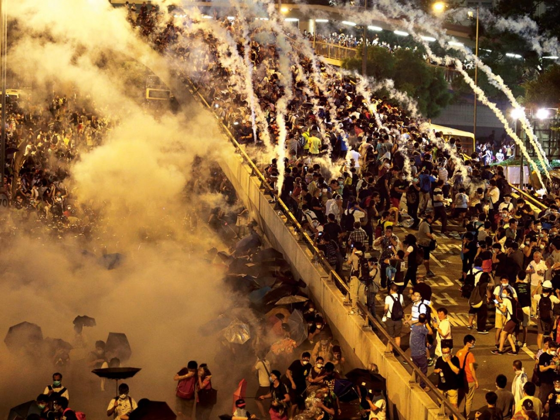 「雨傘革命」宣告一國兩制已到末路