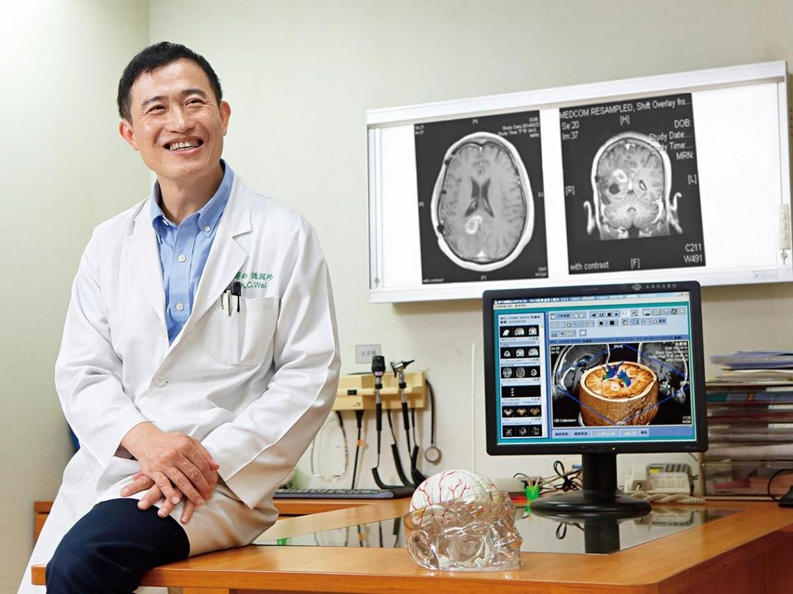 魏國珍回歸初衷 分享快樂行醫經驗