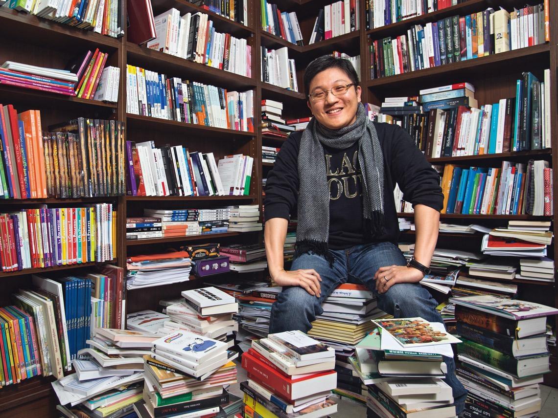 譚光磊 把中文書引介國際的推手