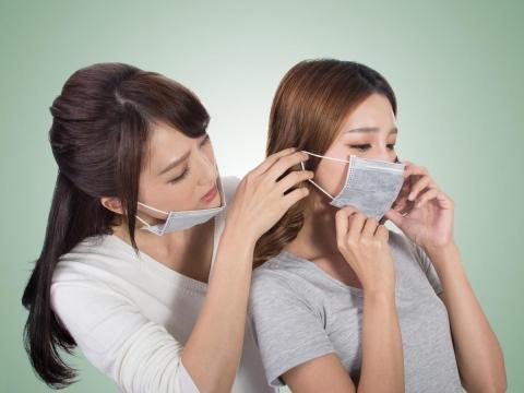 活性碳口罩  對抗病毒效果有限