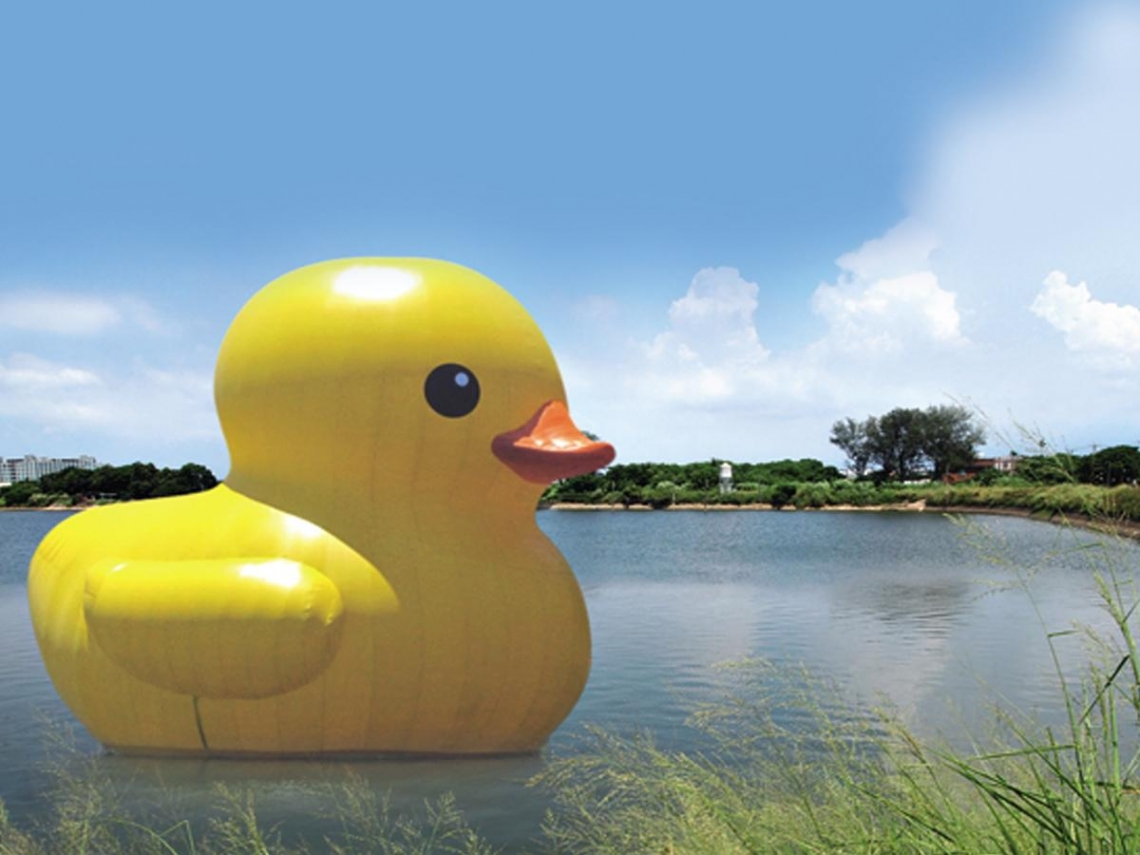 跟著黃色小鴨遊桃園