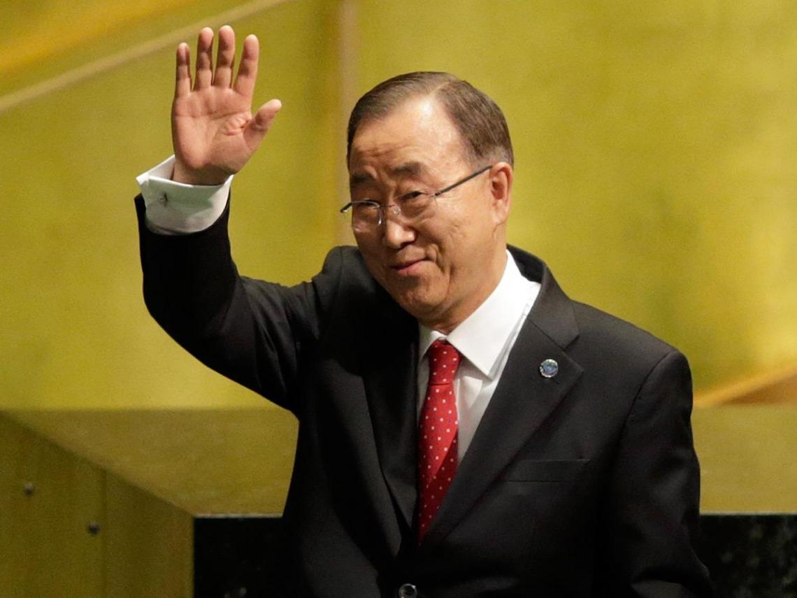 告別聯合國  潘基文:重返韓國