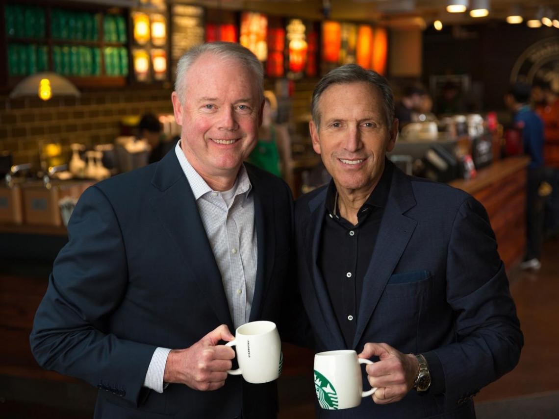 微軟老將掌咖啡帝國  星巴克的盤算