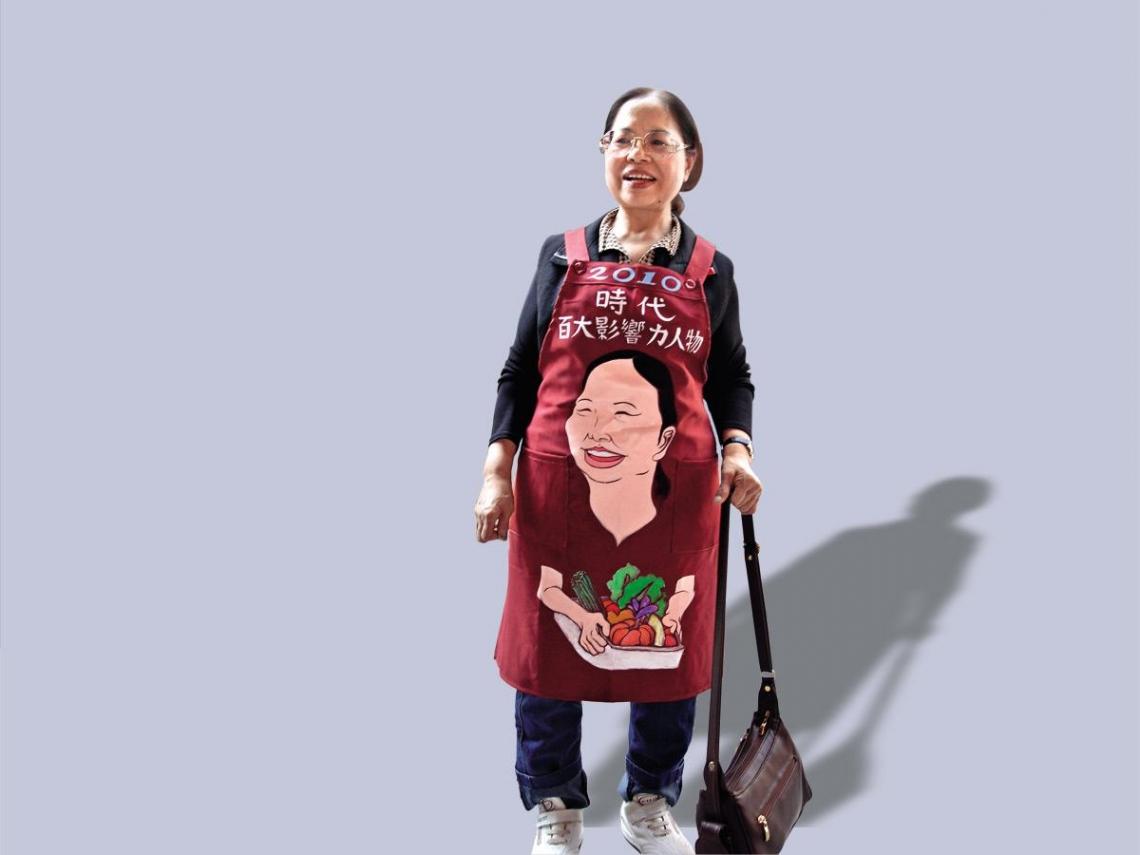 陳樹菊  在平凡中持續行善