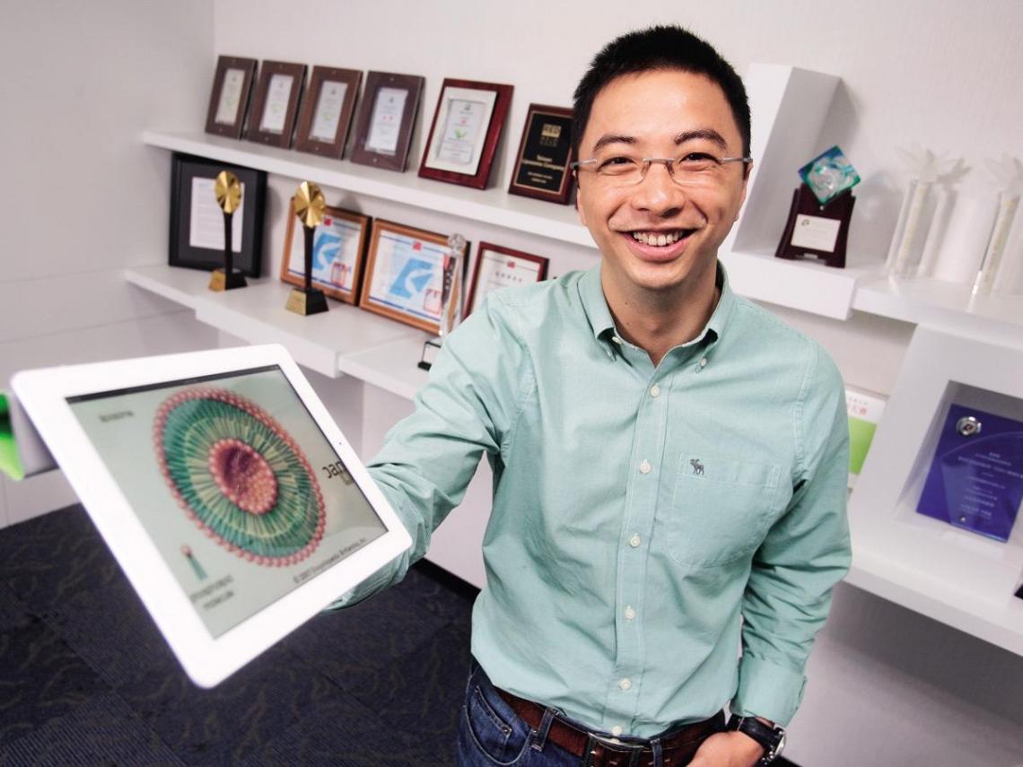 台灣微脂體  開創生技業第三個藍海
