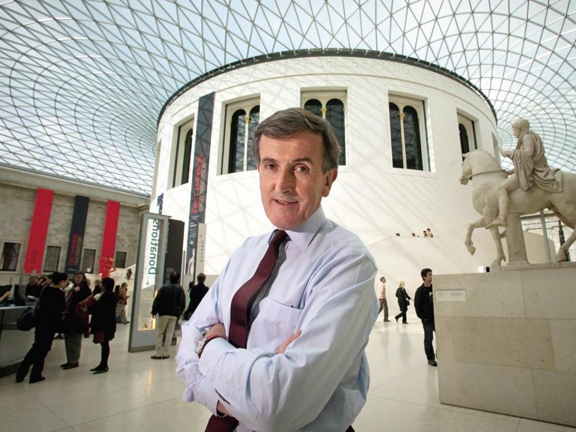跟著大英博物館館長  體驗全新世界