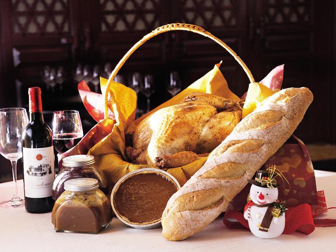 君悅、艾美、台北國賓   感恩節火雞餐 在台經典呈現
