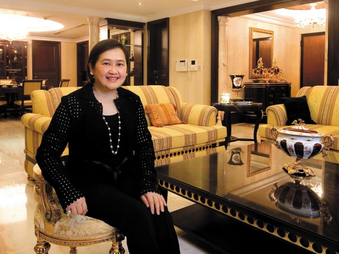 陳秀桂 女教師晉身頂級豪宅主人