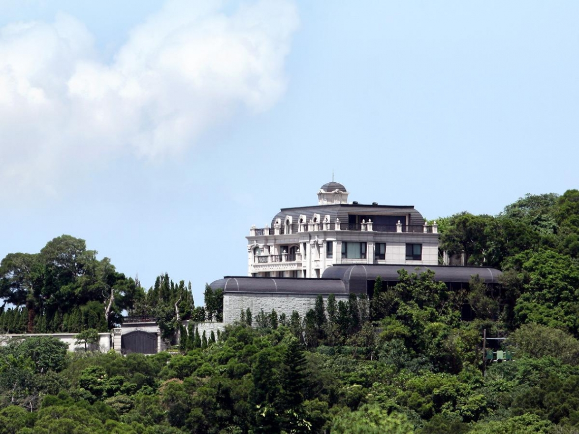 新光吳家錄打造歐式「天空之城」