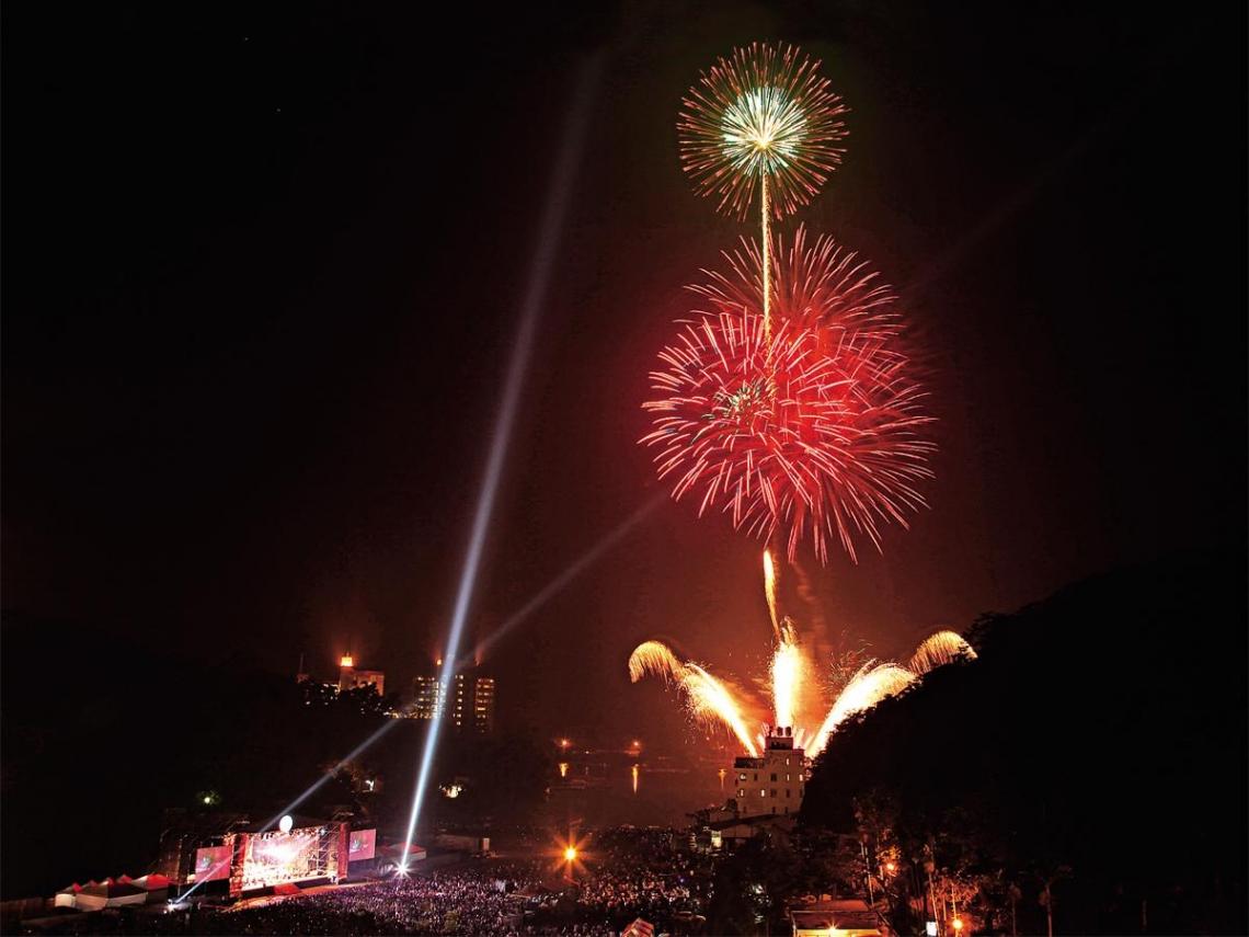 燦爛花火  歡度百年國慶