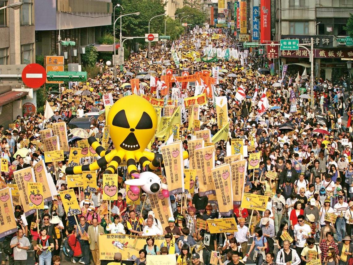 三○九廢核大遊行的這些人那些事