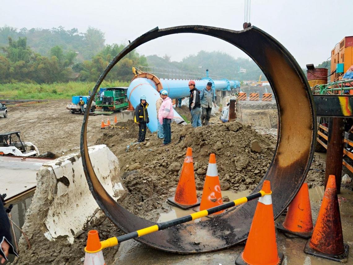 自來水管才是台灣缺水最大敵人