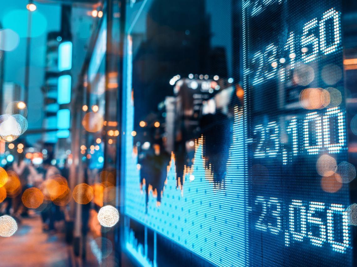 金融股重登主流架式日趨明顯
