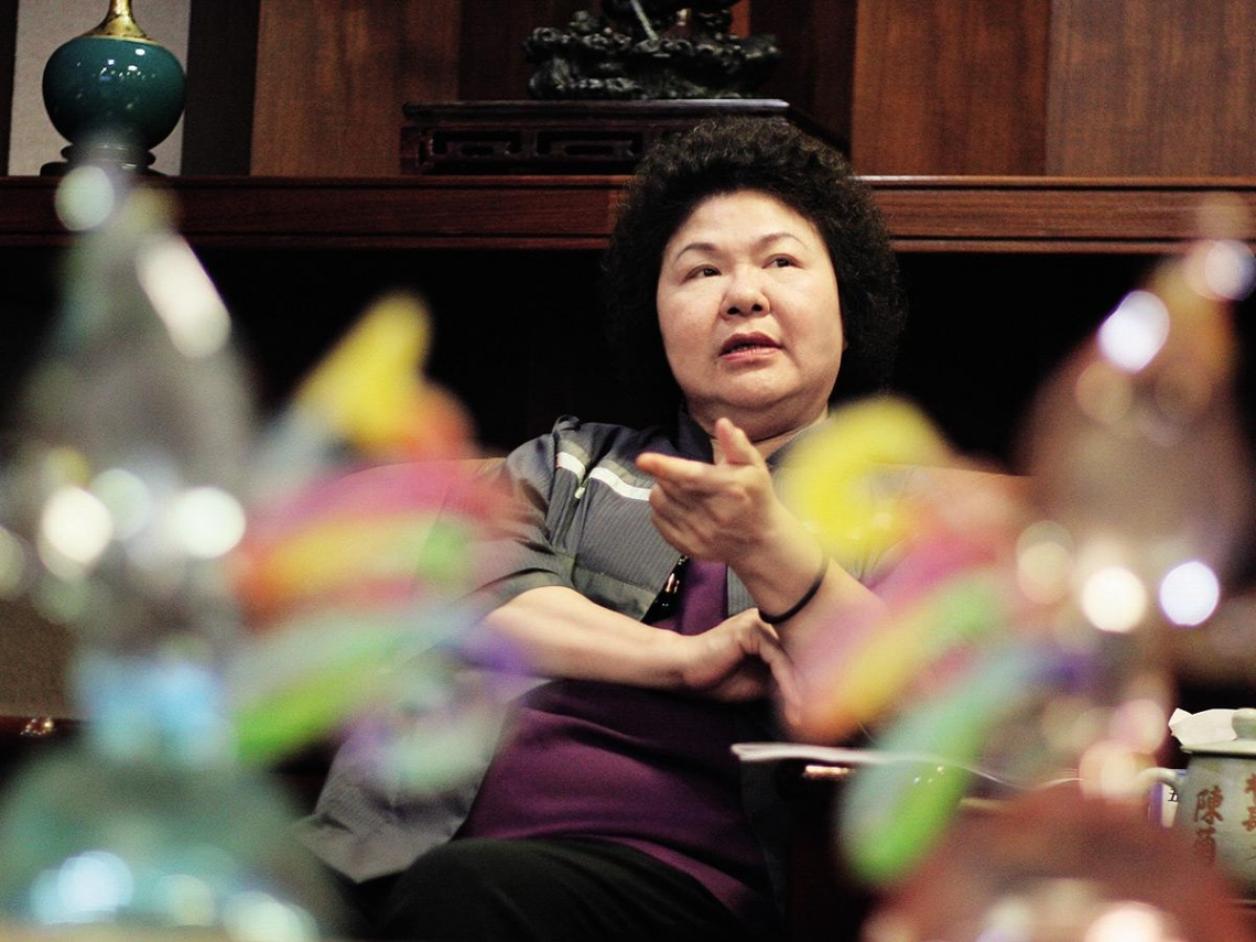 陳菊:母親的堅忍特質烙印我的生命
