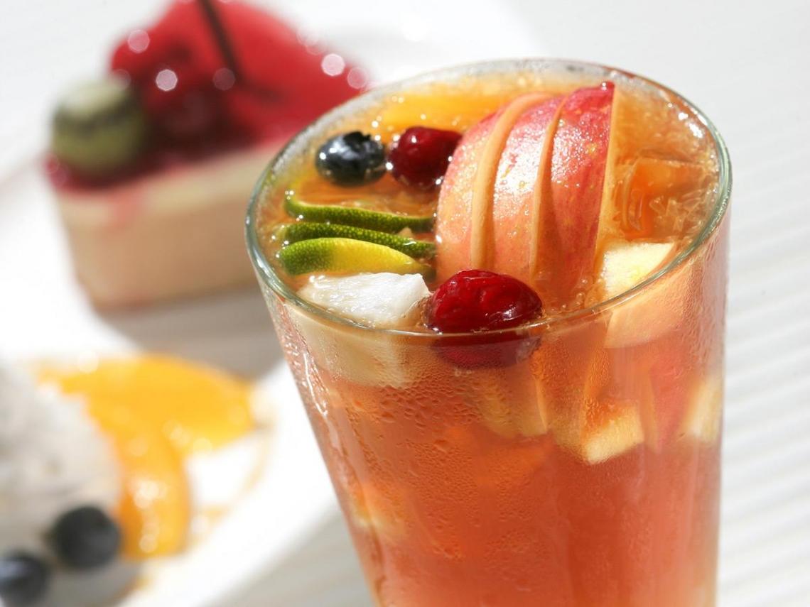 水果遇上茶  釀出美味靈感加乘