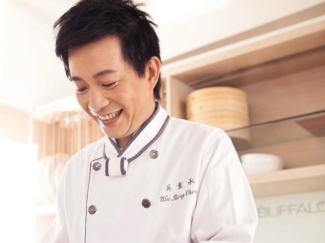 型男主廚的創意米酒湯品