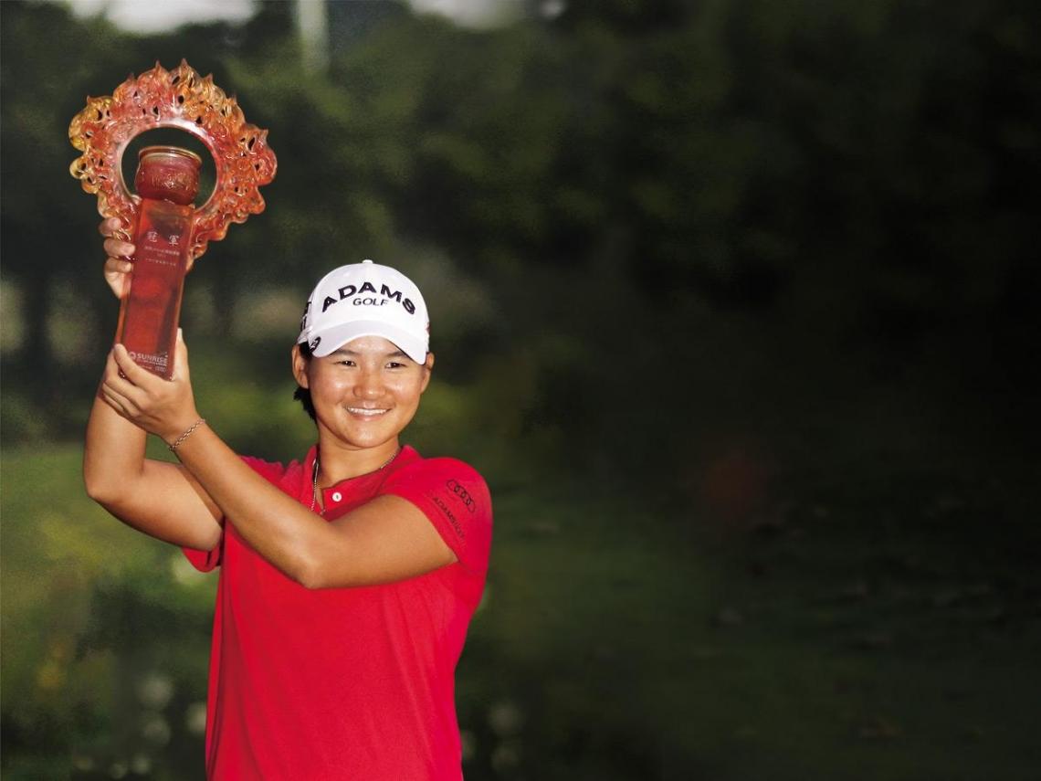 曾雅妮:高爾夫球場就是我掌控的世界
