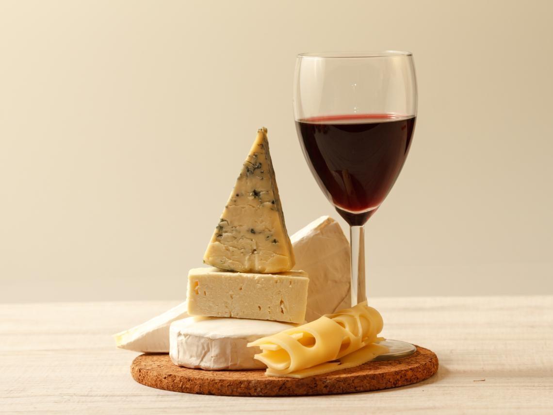 當葡萄酒遇到乳酪