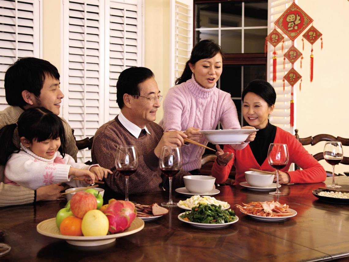 「我的餐盤」概念  健康過好年