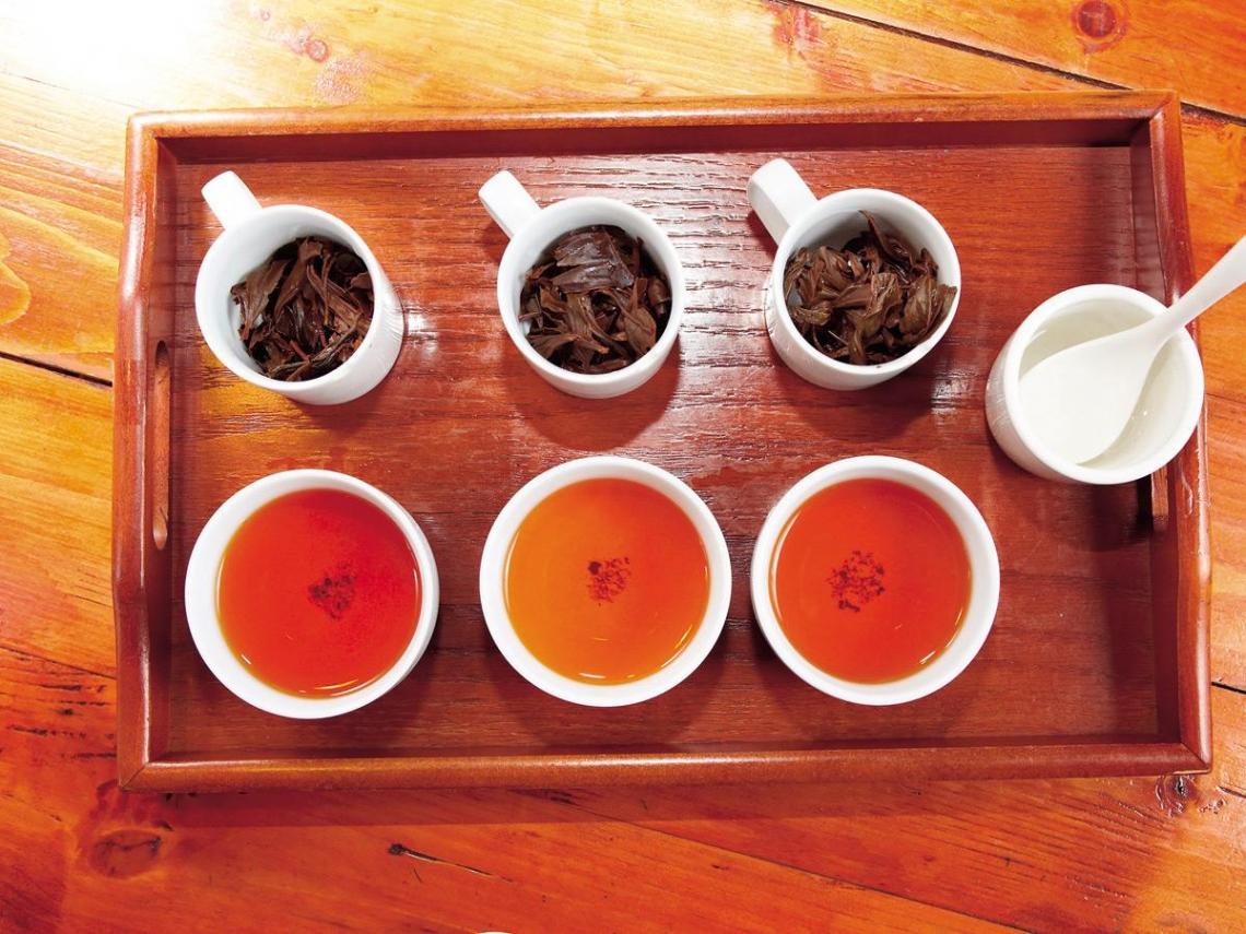 來日月潭  喝一杯有故事的紅茶