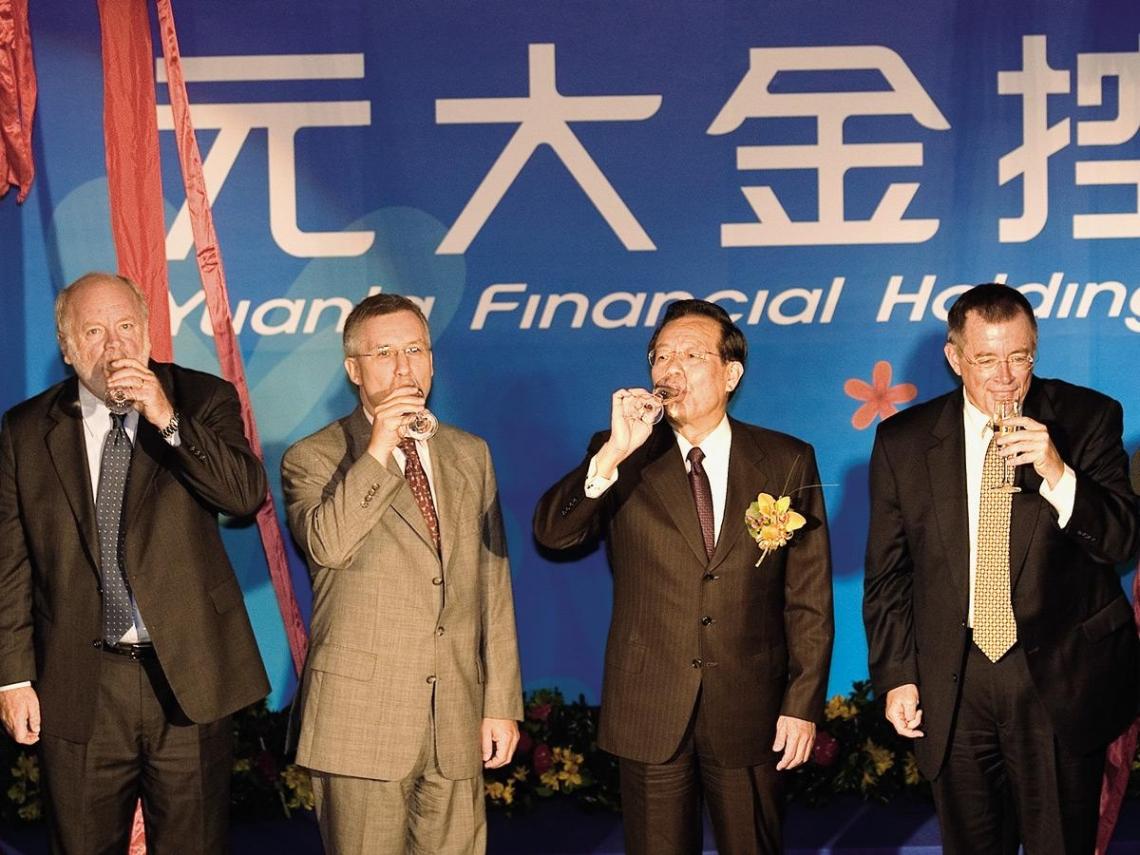 金融業合縱兼併全為搶中國市場