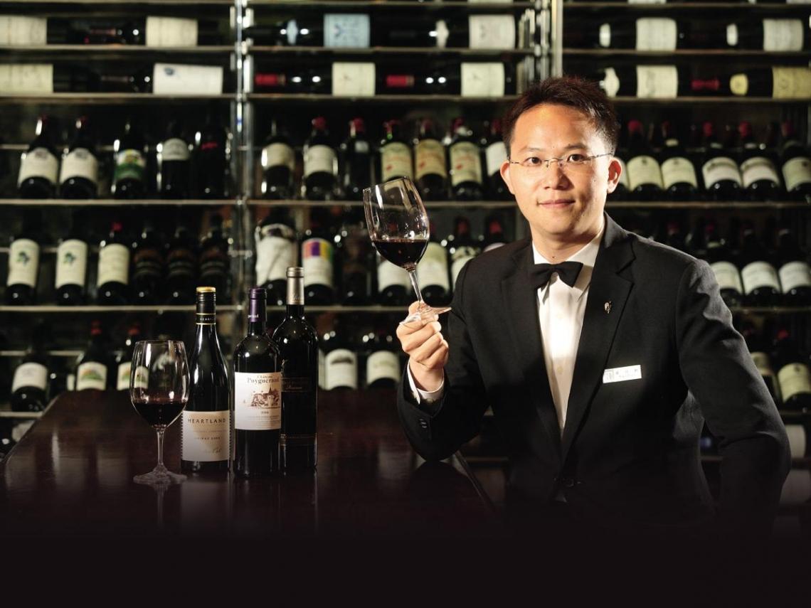聶汎勳 完美撮合美酒與美食的魔法師