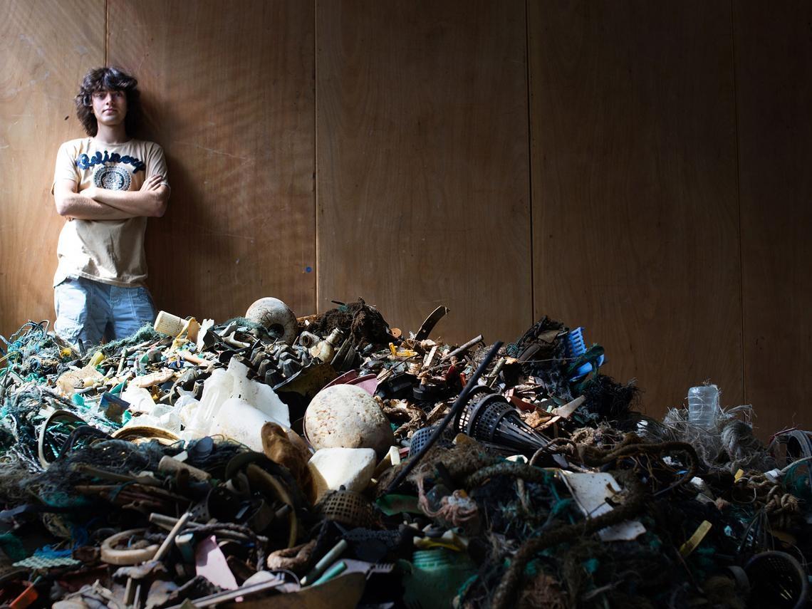 來台前搶先專訪》22歲海洋垃圾終結者