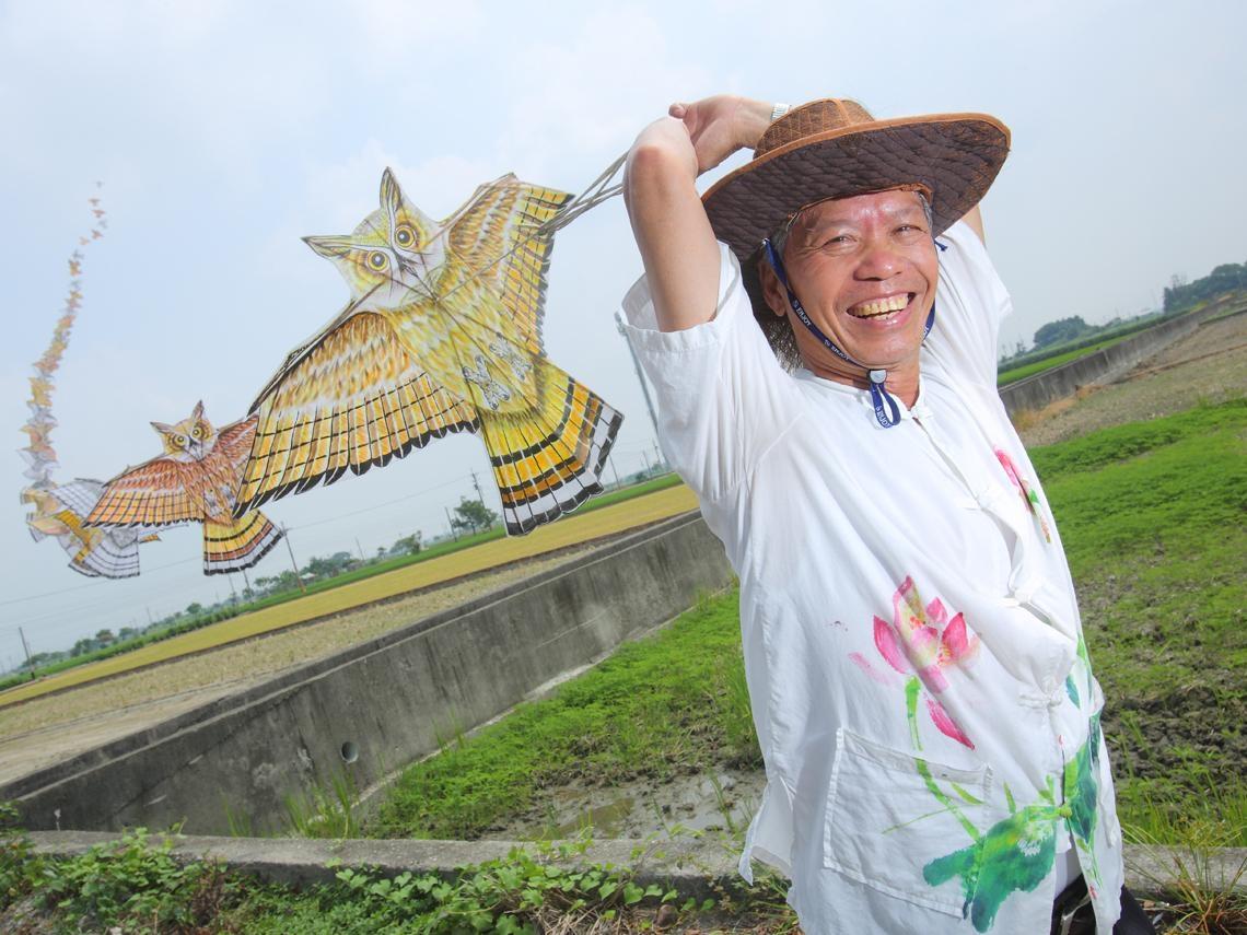 他做紙鳶40年 誓言不讓風箏從天空消失