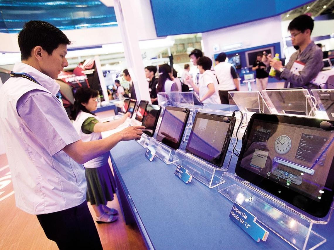 台北國際電腦展 抗蘋果大軍的復仇