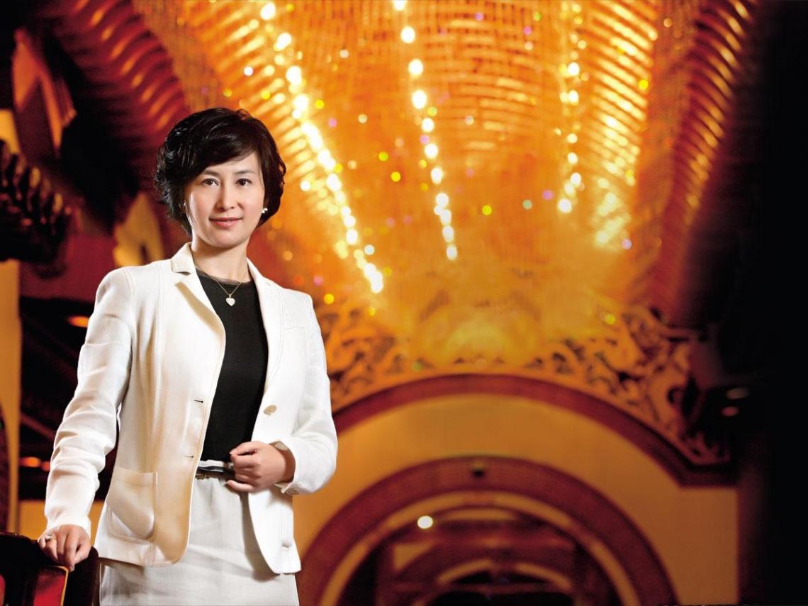 香港女首富 何超瓊:富二代最大的挑戰是做自己