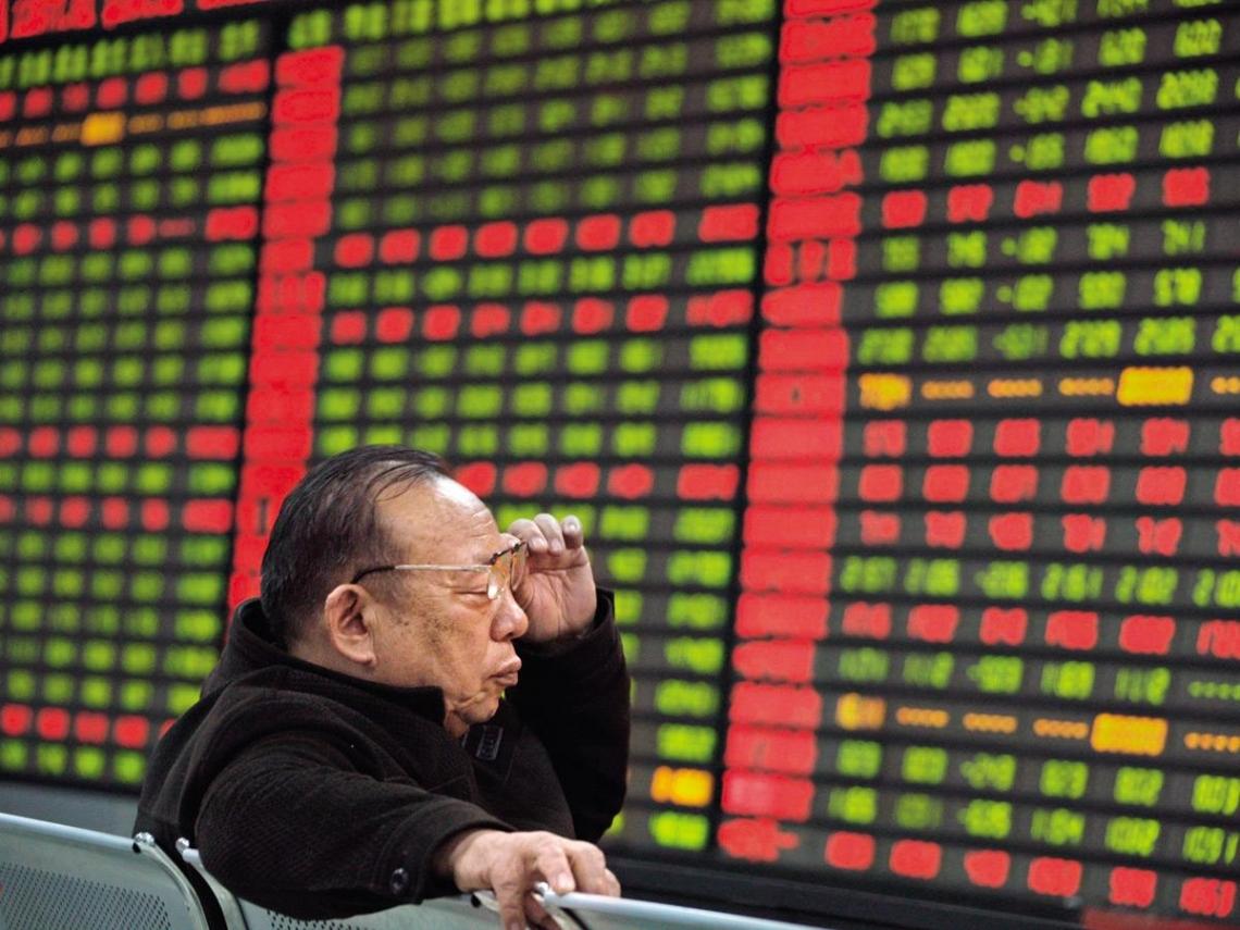 法人作多  中國股市大型藍籌股出頭