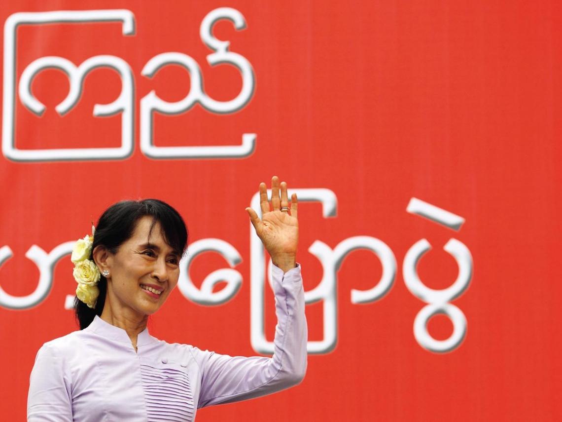民主鬥士翁山蘇姬 帶領黑暗緬甸重見光明