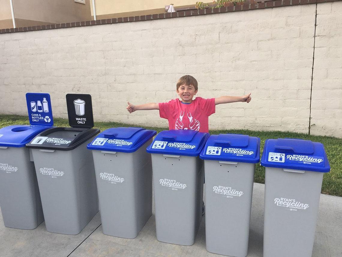 回收公司CEO  竟是三歲男童