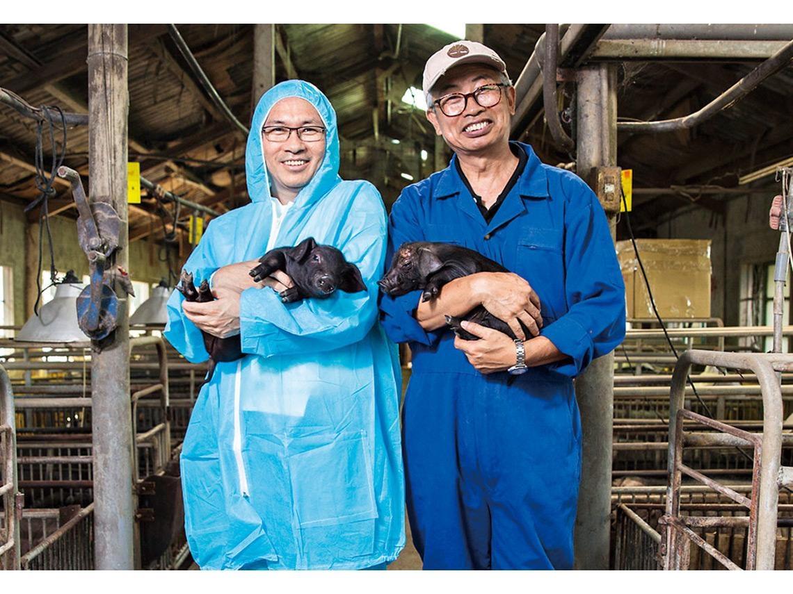 香貢貢「六堆黑豬」